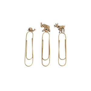 ANIMAL PAPERCLIPS - SET OF 3